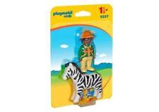 Playmobil 1.2.3 Hombre con Cebra - 9257 PLAYMOBIL