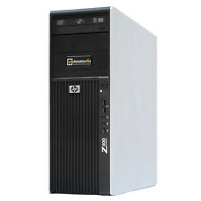 HP Z400 Workstation Intel Xeon X5670 12GB RAM NVIDIA Quadro 400 300GB HDD Win7