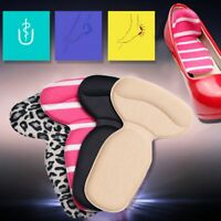 Sticky Silicone Shoe Back Heel Inserts Insoles Protector Pads Cushion Liner Grip