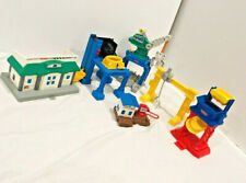 Fisher Price Geotrax Lot Depot Docking Station Construction Building Loading