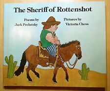 The Sheriff of Rottenshot by Jack Prelutsky 1982 HC DJ 1st Printing REVIEW COPY