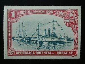 URUGUAY  1 MINT LH OG STAMP SC # 174