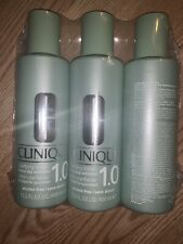 1200ml LOT OF 3 CLINIQUE Clarifying Lotion #1 BRAND NEW!13.5oz/400ml Each