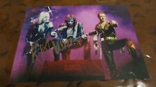 K. K. Downing Guitarist signed autographed photo Judas Priest Flying V