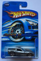 2005 Hotwheels Chevy Corvette C6 V8 Grey! Mint! Very Rare!