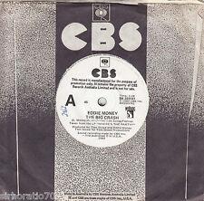 EDDIE MONEY The Big Crash / Backtrack 45 - White Label Promo
