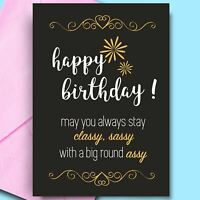 Funny Happy Birthday Cards For Uncle Mum Dad Friend Comedy Rude Fun Cheeky