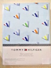 Tommy Hilfiger Sailboat Fabric Tablecloth 60 x 102 Oblong Nautical Kitchen A