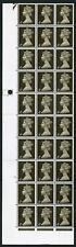 Lsd 4d Cyl 14 No Dot Last 7 Stamps on Middle Row Non-phos Others have 1 Band U/M