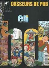 REVUE CASSEURS DE PUB N°34 ; 2006 . PARODIES TINTIN / BLAKE ET MORTIMER .