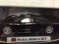 1:18 SALEEN S7 BLACK DIECAST MODEL BY MOTORMAX
