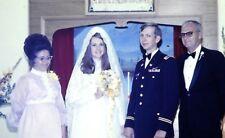 lot of 12 slides 1972 Larry Wedding bee-hive hairdo cats-eye glasses