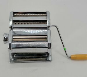 Marcato Atlas Model 150 mm Deluxe Pasta Queen Maker Stainless Made in Italy