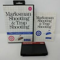 Marksman Shooting/Trap Shooting (Sega Master, 1987) Complete