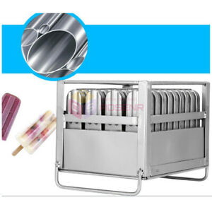 40pcs Stainless Steel Molds Ice Lolly Popsicle Ice Cream Stick Holder