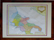 161224 Mappa del regno di Napoli del 1750 ad opera di  Gilles Robert de Vaugondy