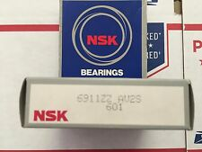 NSK BEARING - PART# 6911ZZ - 1 PC.  NEW