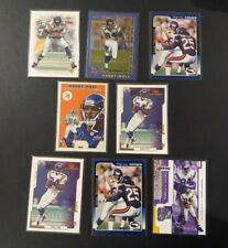 RANDY MOSS 2000-01 TRIBUTE 8 Card Lot To Celebrate Greatness In The HOF