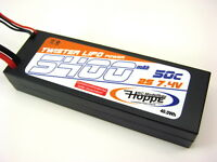 Lipo Akku 2S 7,4V 50C 5400 mAh T-Plug Power Racing  C-49010-D-Hoppe  Corally