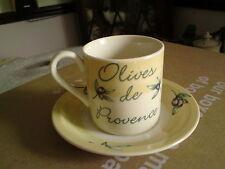 Johnson Brothers England, olive de Provence Coppa & Piattino, in buonissima condizione, Free-mail.