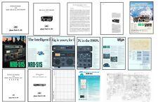 JRC NRD-515 fotocopia Manuale di istruzioni + MANUALI DI SERVIZIO + OPUSCOLO DI COLORE ++++