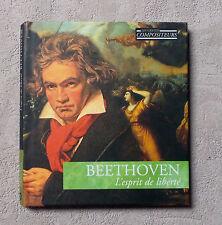 "BEETHOVEN ""L'ESPRIT DE LIBERTÉ"" ""MUSICAL MASTERPIECES"" CD ALBUM & BOOK LIVRE N°1"