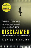 Disclaimer, Knight, Ren�e, Used; Good Book