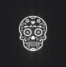 Sticker adesivi adesivo tuning auto moto jdm teschio sugar skull mexican  r3