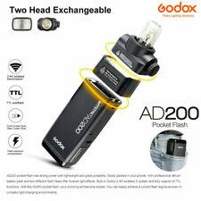 Godox AD200 Wireless Speedlite Flash Pocket Flash Light TTL 2.4G 1/8000 HSS 200W