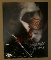Tobin Bell Jigsaw Autographed Saw 8x10 Photo Beckett COA