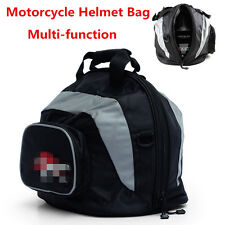 Universal Motorcycle Motorbike Scooter Helmet Bag Carry Bag Deluxe Soft Lining