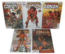 SAVAGE SWORD OF CONAN 1,2,3,4,5, Marvel Comics 1st Prints NM Lot 2019