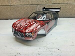 Custom painted  body for traxxas rustler 2wd