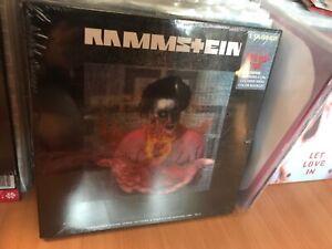 Rammstein ** Was das Herz begehrt * Box 4 LP Vinyl Colored 1994-2011 rare Tracks