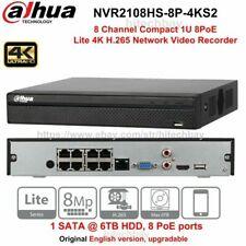 Dahua NVR2108HS-8P-4KS2 8Ch 8PoE Compact 1U Lite 4K H.265 Network Video Recorder