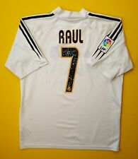 4/5 Raul Real Madrid jersey small 2004 2005 home shirt size 34 / 36 Adidas