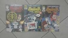 PUNISHER 8-9-10 con card MARVEL MINISERIE