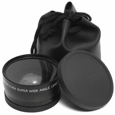 58mm 0.45x Wide Angle Macro Lens for Canon 650D 600D 550D 500D 450D 400D LF37