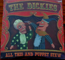 The Dickies - All This And Puppet Stew - LP Vinyl Fat Wreck Chords ‎FAT6081 2001