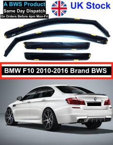 BMW 5 Series F10 Saloon 2010-2016 4door 4pc BWS Brand Wind Deflectors UK Stock