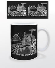 CITOGRAPHY NEWCASTLE 11 OZ COFFEE MUG TEA CUP ENGLAND TYNE WEAR UNIVERSITY UK!!!