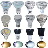 4/10x 3W 4W 6W 7W 8W 9W LED Bulbs COB SMD GU10/MR16/E27 Spotlight Lamp Light UK
