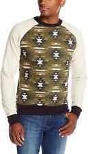 Company 81 Men's Military Sweatshirt, Oatmeal Heather, Large