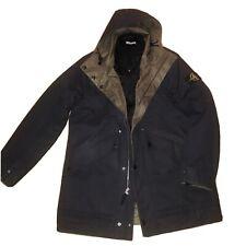 Stone Island Jacket XXL Black Reversible Khaki Coat  Genuine Ex Condition Rare