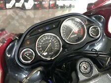 Kawasaki ZZ-R 600 1990-2008  Polished Aluminium Dial Surrounds Speedo Rings 4pcs