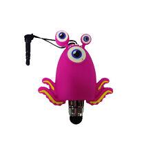 I-TOTAL Pennino per touch con jack da 3,5 mm a forma mostro rosa con tentacoli