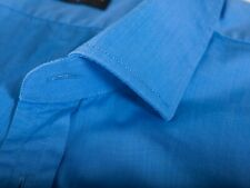 Ralph Lauren Black Label Medium Blue French Cuff Shirt 17.5 12196