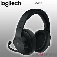 GENUINE Logitech G433 7.1 Surround Sound Wired Gaming Headset Black PC XBox PS4