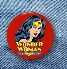 Wonder Woman - Large Button Badge - 58mm diam