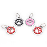 Dog ID Tag Free Custom Personalized Engraved Pet Puppy Cat necklace Name Charm R